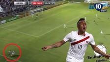 Christian Cueva realizó una genial huacha en el empate de Sao Paulo