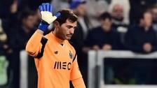 ¿Iker Casillas y sus últimas super atajadas en la Champions?