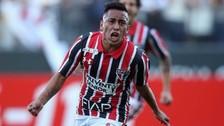 Christian Cueva y su gol de 'puntazo' en el Sao Paulo vs. ABC