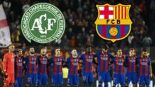 Barcelona fue el único club que ayudo económicamente al Chapecoense