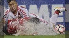 Libertadores: River Plate venció a Independiente en medio de una 'piscina'