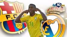 Barcelona y Real Madrid se pelean por la nueva joya de Brasil, Vinicius Jr.