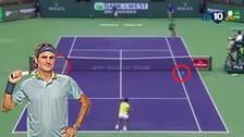 Federer eliminó a Nadal de Indian Wells: mira su formidable revés