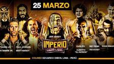 Exestrellas de la WWE pelearán en Perú durante evento Imperio Lucha Libre