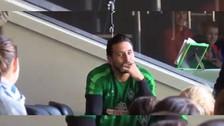 Video | Claudio Pizarro contó sus vivencias a un grupo de españoles