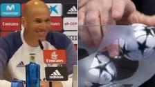 Zidane y su irónico comentario sobre las bolas calientes: