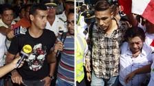 Hinchas le dieron una gran bienvenida a Guerrero y Trauco tras llegar al Perú