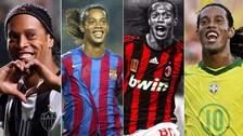 Mira los 10 mejores goles de Ronaldinho en su cumpleaños 37