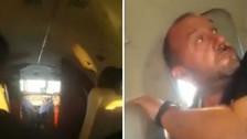 Terror en el aire: puerta de avioneta que trasladaba a Racing se abrió al despegar
