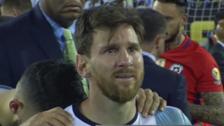Messi vivió el día más triste de su carrera después de un Argentina vs. Chile
