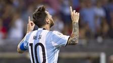 Lionel Messi anotó un gol de penal ante Chile