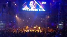 Los Hardy Boyz trajeron al Dibós la vieja escuela de la WWE
