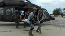 Fotos   Fuerza Aérea de Colombia demuestra su solidaridad en la devastada Piura