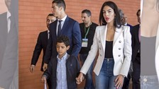 Georgina Rodríguez mostró su gran relación con el hijo de Cristiano Ronaldo