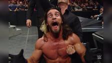 Seth Rollins le gana a Triple H con un Pedigree en Wrestlemania