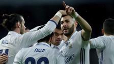 El golazo de zurda de Benzema tras una gran combinación con Carvajal