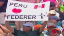 Hincha peruano sorprendió con mensaje en el nuevo título de Roger Federer