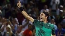 Federer derrotó por cuarta vez seguida a Nadal y ganó la final del Miami Open