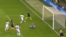 Mauro Icardi falló gol insólito que pudo salvar al Inter de la derrota
