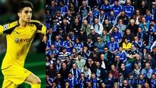 Marc Bartra buscó y encontró a valiente fanática del Borussia Dortmund