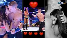 Las emotivas fotos de Nikki Bella y John Cena en Wrestlemania