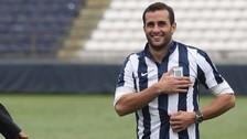Mauro Guevgeozián llegó al estadio para alentar a Alianza Lima