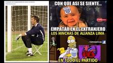 Alianza Lima empató ante Independiente, pero no se salvó de los memes
