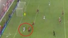Germán Pacheco sorprendió a defensa de Independiente con gran jugada personal