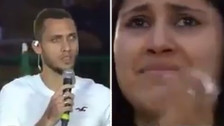 El emotivo discurso de Helio Neto que hizo llorar a los hinchas del Chapecoense