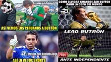 Leao Butrón es protagonista de memes tras su gran partido contra Independiente