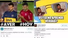 Gigliotti en la mira de los memes en Argentina por perder penal ante Alianza Lima
