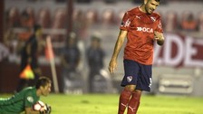 La increíble reacción de Butrón para atajarle un penal a  Independiente