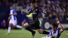 La jugada 'maradoniana' de Asensio para el gol de James