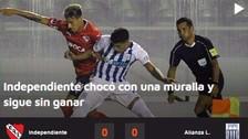 Así informó la prensa argentina el empate de Alianza Lima ante Independiente