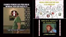 Mira los divertidos memes de la Selección Peruana tras el ránking FIFA