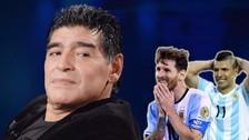El enfado de Maradona con jugadores de Argentina por ingnorar a Batistuta