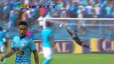 Christian Ortiz anotó un golazo de media distancia ante Sport Rosario
