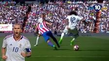 La mágica ruleta de Marcelo ante Atlético de Madrid al estilo Zidane