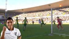 Paolo Hurtado anotó un gran gol de cabeza para darle la victoria a su equipo