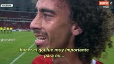 Futbolista brasileño lloró en plena entrevista por ser abucheado por los hinchas