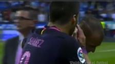 El reclamo de Luis Suárez a Sandro por anotarle al Barcelona