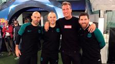 Maxi López le mandó una indirecta a Icardi tras fotografiarse con Messi