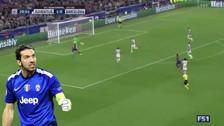 La excelente atajada de Buffon cuando estaba solo frente a Iniesta