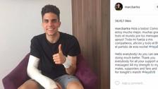Marc Bartra y su conmovedor mensaje tras el ataque al bus del Dortmund