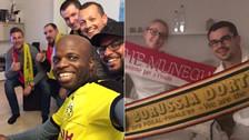 Hinchas de Borussia Dortmund alojaron a sus pares del Mónaco
