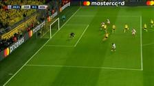 El polémico gol de Mbappé para poner el primero ante Borussia Dortmund