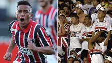 Sao Paulo perdió y los hinchas volvieron a mencionar la 'Cuevadependencia'