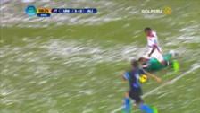 Quintero anotó un gran gol tras aprovechar un error en la defensa de Alianza