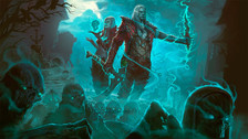 Probando al Necromancer en Diablo III