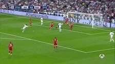 La clara ocasión que falló Sergio Ramos que pudo ser gol para Real Madrid